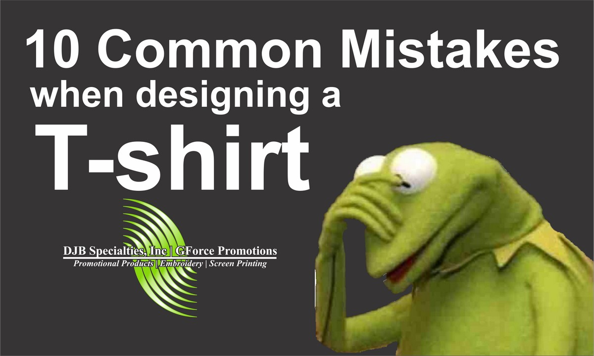 10 Common Mistakes To Avoid When Designing A Shirt