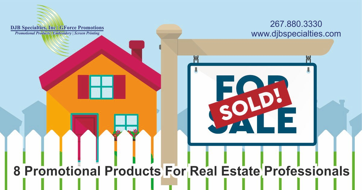 8 Promotional Products For Real Estate Professionals