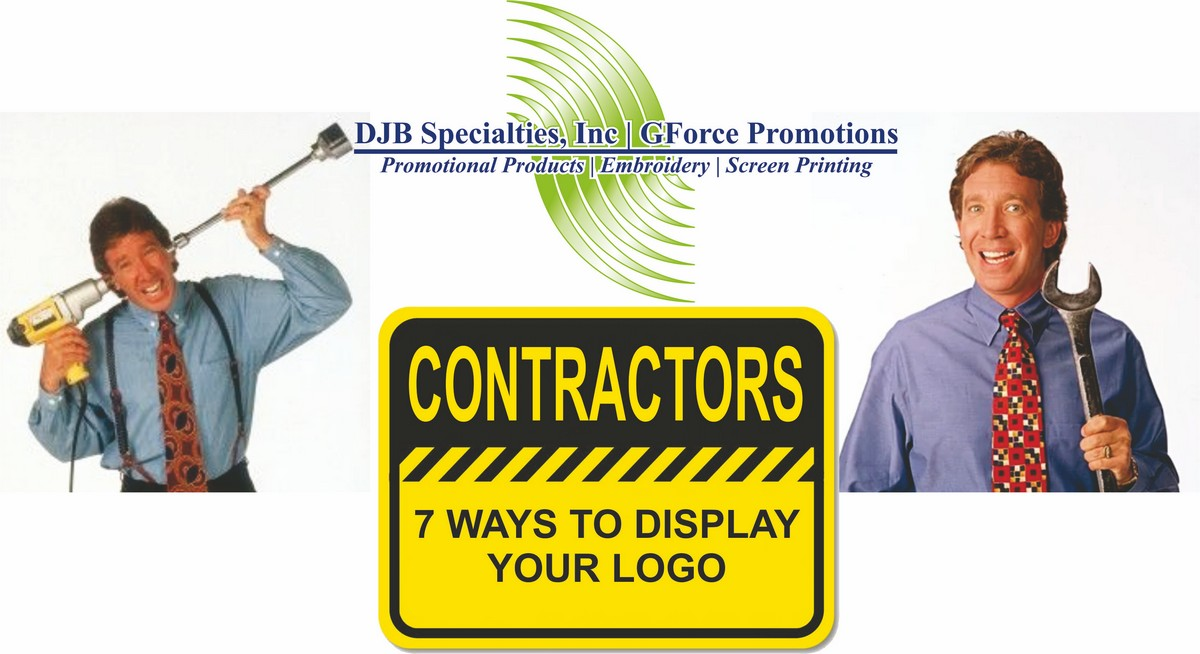 7 Ways Contractors Can Display Their Logo