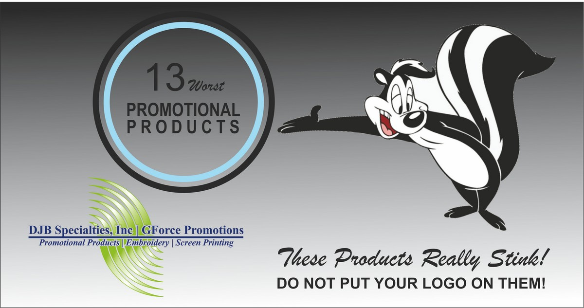 Promotional Products Not To Buy